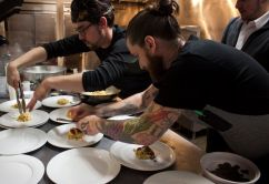 Justin Steel, Chef/Owner Bar Marco & Kevin Cox, Owner Bar Marco